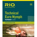 RIO Technical Euro Nymph Leader 14ft